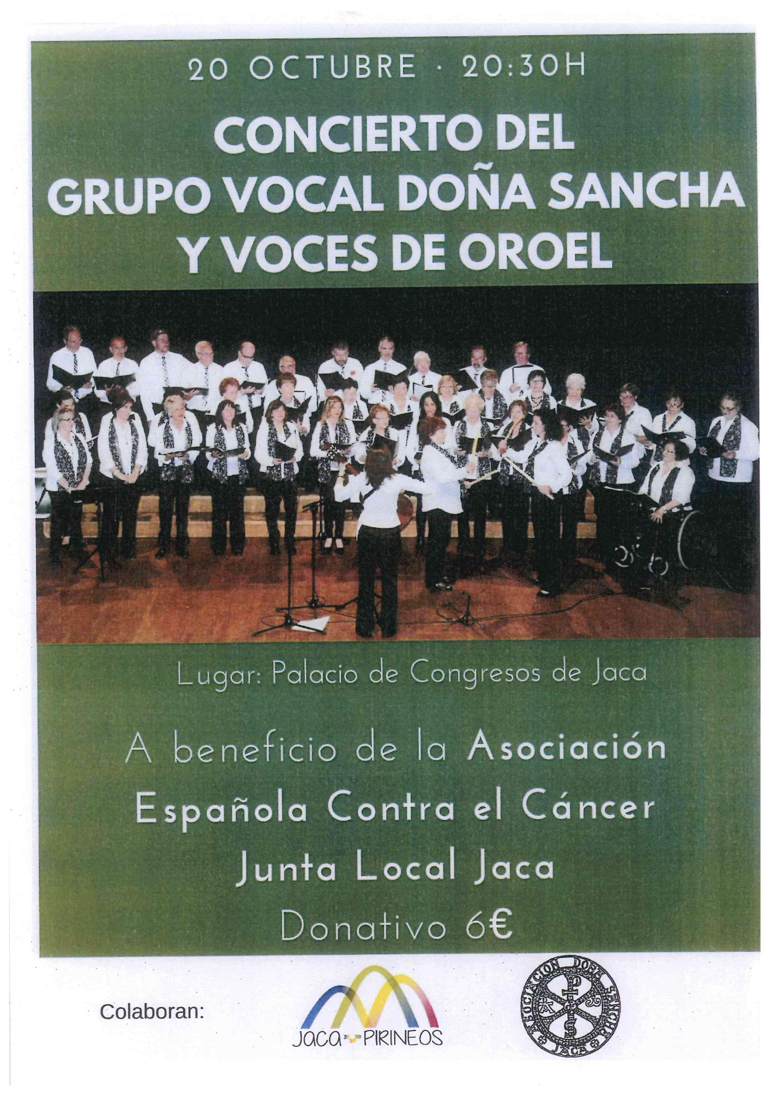 CONCIERTO DEL GRUPO VOCAL DOÑA SANCHA Y VOCES DE OROEL